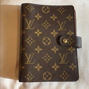 Authentic Louis Vuitton Agenda